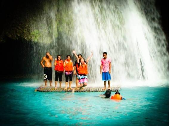 (Not a cliff thouggh) Kawasan Falls, Badian, Cebu