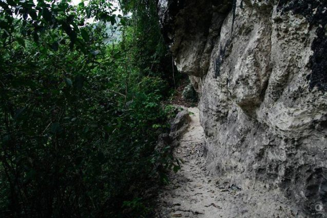 The way towards the Agta Cave