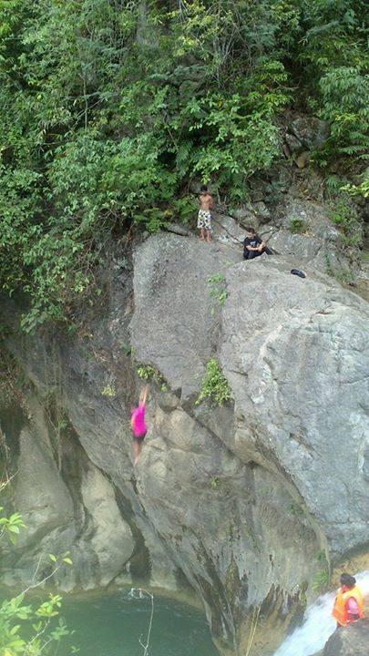 Bugasok Falls, Argao, Cebu
