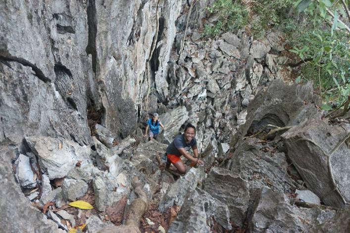 taraw cliff, el nido.