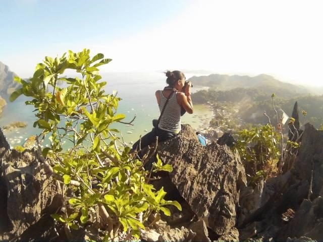 El Nido Taraw Cliff