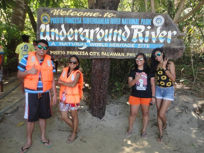palawan under ground river | dakilanglaagan