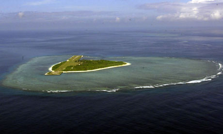 Pag-asa Island in the South China Sea