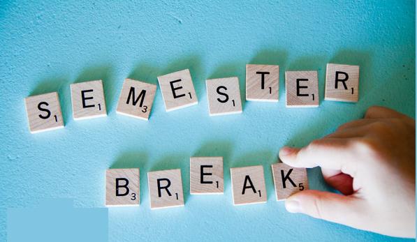 semestral break