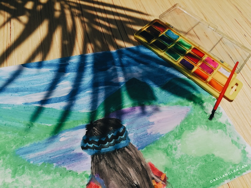 Dakilanglaagan - Watercolor Painting