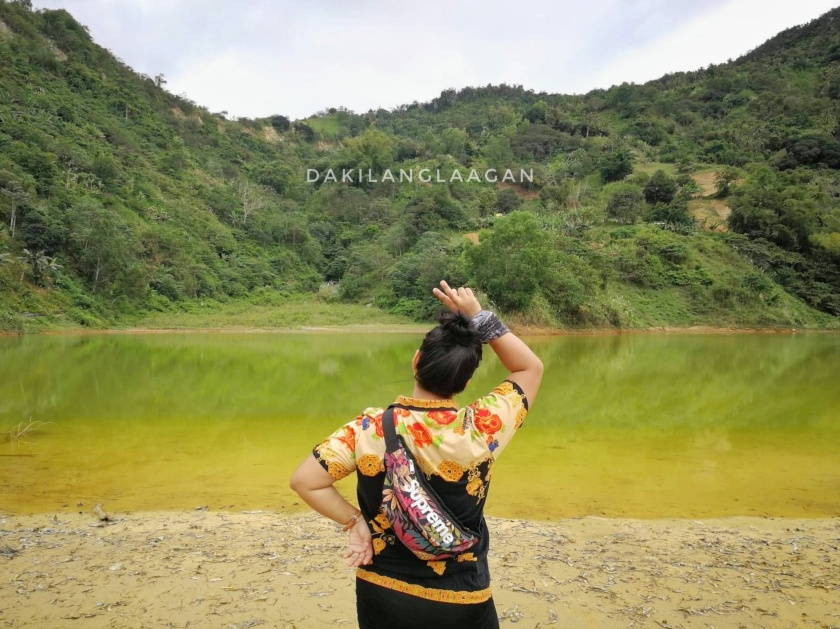 Yellow Lake in Cebu
