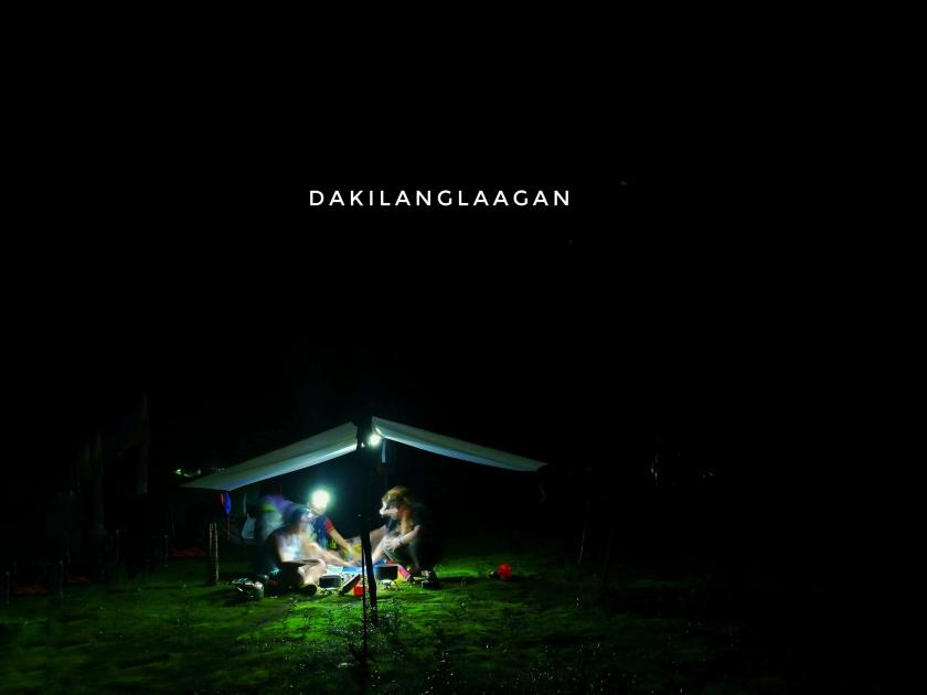 Socials at night at Mt. Mandalagan