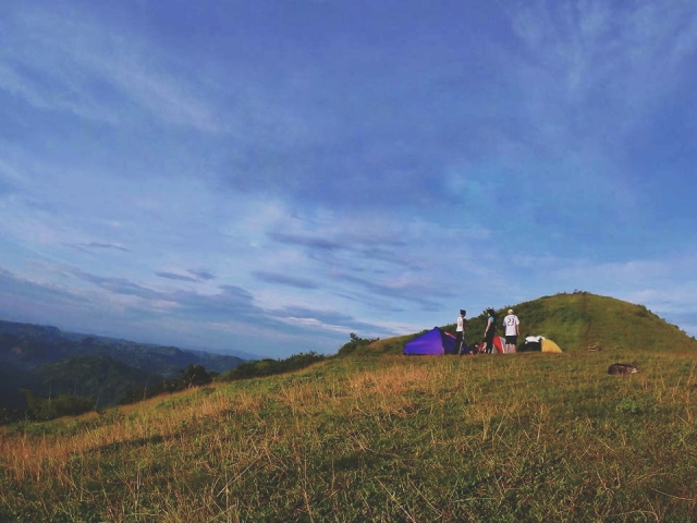 Mt. Naupa - The Best Camping Site in Cebu